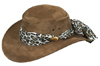Brown Jillaroo Hat by Jacaru