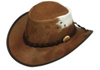 Rust/White Rustler Hat by Jacaru