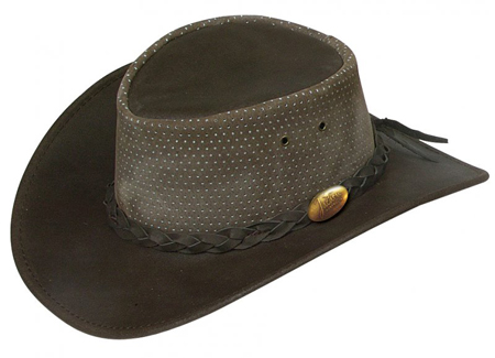 Brown Swampy Hat by Jacaru