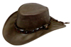 Brown Eureka Hat by Jacaru